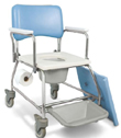MedPro AquaCare Shower Commode with Swivel armrests