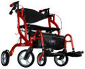 Airgo Fusion Side-Folding Rollator & Transport Chair